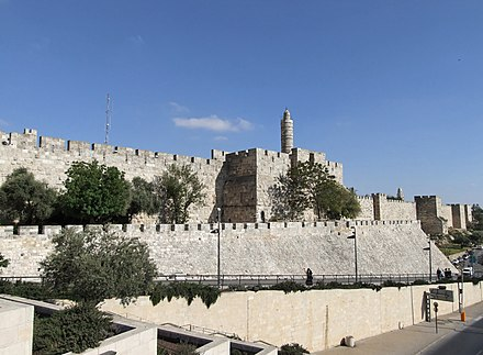 The citadel in Jerusalem was besieged and eventually breached by rebel forces Jerusalem, Israel - 2008 (2465036700).jpg