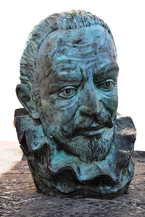 English: Head of composer Don Joaquin Rodrigo ...