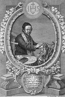 Johann Joseph Gassner Austrian priest