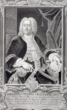 Johann Peter von Ludewig