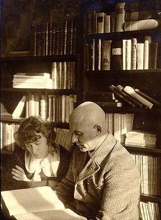 Johannes Vares - Vares and his wife Emilie, 1931