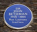 John Betjeman Plaque (14095323634).jpg