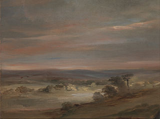A View on Hampstead Heath, Early Morning