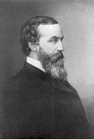 Photo of John Fraser, third president of the P...
