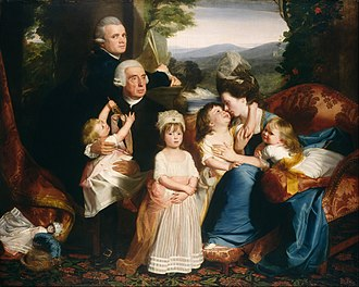 John Singleton Copley - Portrait of the Copley family (1776)