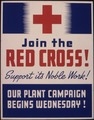 Join the Red Cross^ Support its noble work^ Our plant campaign begins Wednesday^ - NARA - 535399.tif