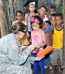 Joint Task Force-Bravo's Medical Element provides care to over 650 Honduran villagers 140717-Z-BZ170-003.jpg