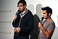 Jonah Ray Kumail Nanjiani the Meltdown December 2011.jpg