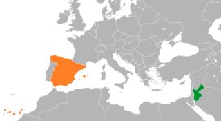 Jordan–Spain relations