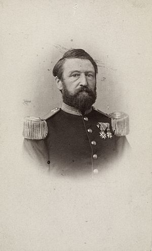 Joseph Frantz Oscar Wergeland - Joseph Frantz Oscar Wergeland photographed in the 1860s