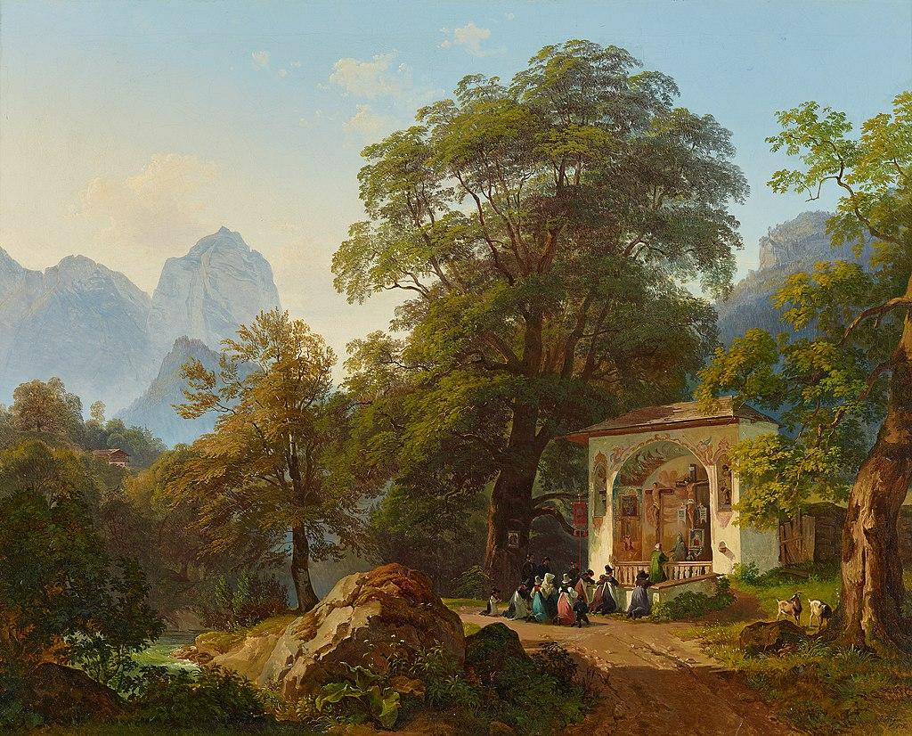 Joseph Martin Höger - Waldkapelle - 8044 - Kunsthistorisches Museum.jpg