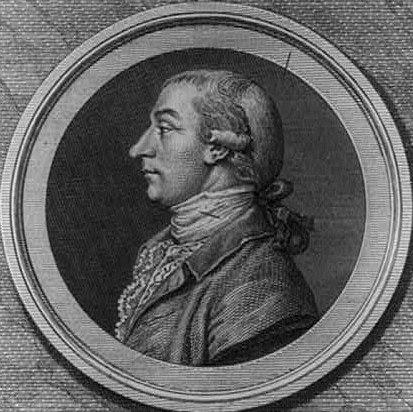 Joseph Reed by Pierre Eugène du Simitière