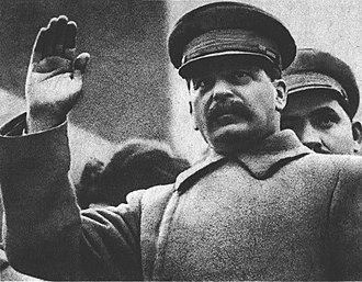 Lazar Kaganovich - Joseph Stalin and Lazar Kaganovich 1933