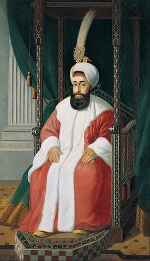 Selim III - Image: Joseph Warnia Zarzecki Sultan Selim III Google Art Project