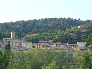 Jouques - A view of Jouques