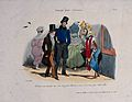 Journey to eternity; prostitute approaches a man and his son Wellcome V0042209.jpg