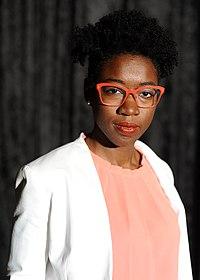 Joy Buolamwini - Wikimania 2018 01.jpg