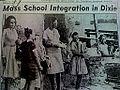 Juanita Abernathy's idea joined by Coretta Scott King to take their children Juandalynn Abernathy, Yolanda King, Donzaleigh Abernathy, Martin Luther King 3rd and Ralph David Abernathy 3rd to integrate the public schools of the South..jpg