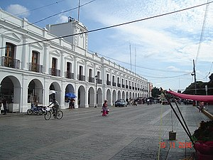2017 Chiapas earthquake - City Hall in November 2006