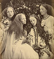 Julia Margaret Cameron (British, born India - The Rosebud Garden of Girls - Google Art Project.jpg