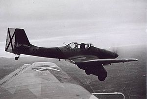 Condor Legion - Junkers Ju 87A with Condor Legion markings