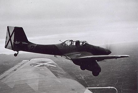 Condor Legion's Junkers Ju 87A with Spanish rebel markings. Junkers Ju 87A with Spanish rebel markings.jpg