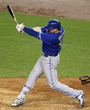 Justin Smoak - Smoak with the Toronto Blue Jays in 2015