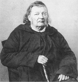 Thomas Medwin - Justinus Kerner in old age