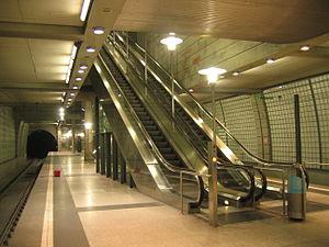Köln-Mülheim station - Köln-Mülheim U-Bahn station