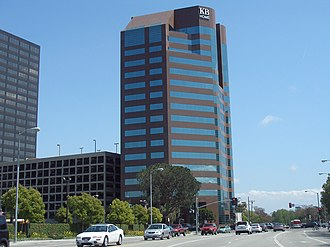 KB Home - KB Home headquarters in the Westwood district of Los Angeles