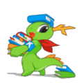 KDE mascot Konqi for help and other documentations.png