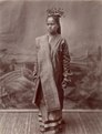 KITLV - 103761 - Lambert & Co. - Malaysian woman at Singapore - circa 1890.tif