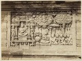 KITLV 40194 - Kassian Céphas - Relief on the second gallery of Borobudur - Around 1890.tif