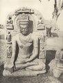 KITLV 88145 - Unknown - Buddha sculpture at Ghenjan in British India - 1897.tif