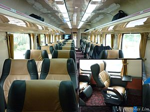 KTM Intercity - AFC: Air-conditioned First Class