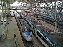 Seoul-Tåg-Fil:KTX at seoul station