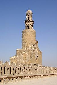 Kairo Ibn Tulun Moschee BW 7.jpg