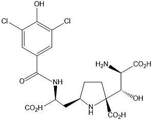 Kaitocephalin - Image: Kaitocephalin structure