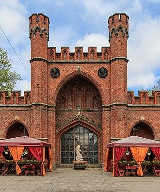 Kaliningrad - Rossgarten Gate, now a restaurant