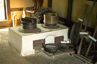<i>Kamado</i> Traditional Japanese cook stove