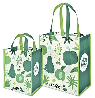 Reusable shopping bag - Reusable bags made by KeepCool USA and sold by Whole Foods Market in fall 2018