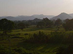 Kanker, Chhattisgarh - Image: Kanker view from DIET