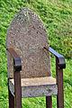 Kap Arkona, Stuhl aus Stein und Stahl, a (2011-10-02) by Klugschnacker in Wikipedia.jpg