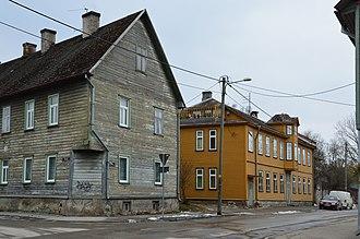 Karlova, Tartu - Image: Karlova, Kesk 7 ja Eha 19