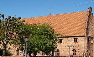 Carmelite Priory, Helsingør - Image: Karmeliterklostret Helsingoer