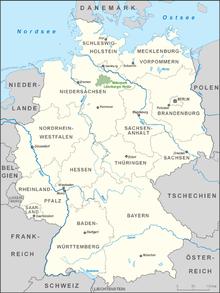 Karte Lüneburger Heide Und Umgebung.Lüneburger Heide Wikipedia