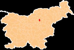 Polzela - Image: Karte Polzela si