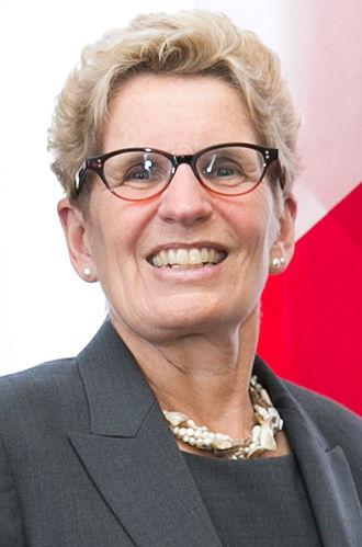 Premier of Ontario - Image: Kathleen Wynne March 2015