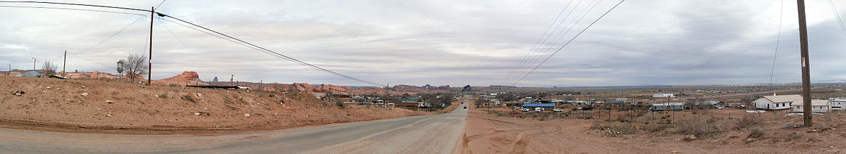 Panorama of Kayenta