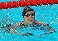 Kazan 2015 - Katie Ledecky wins 400m freestyle (cropped).JPG